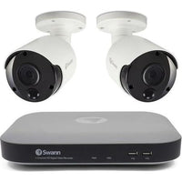 Swann CCTV System - 4 Channel 5MP DVR with 2 x 5MP Thermal Sensing Cameras - Lintronics Group LTD