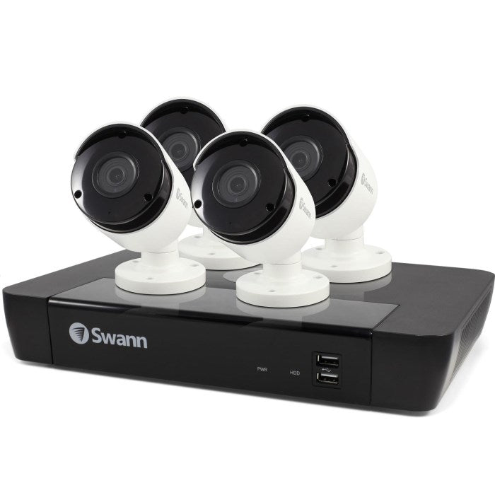 Swann CCTV System - 8 Channel 5MP NVR with 4 x 5MP Cameras & 2TB HDD - Lintronics Group LTD