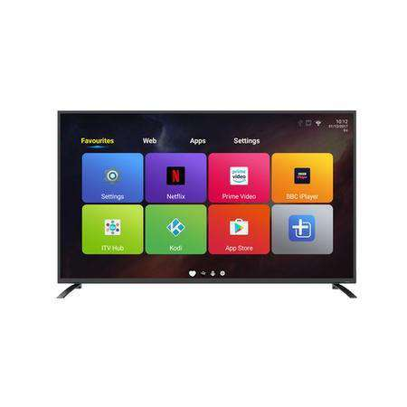 "electriQ 65"" 4K Ultra HD LED Android Smart TV with Freeview HD - Lintronics Group LTD"