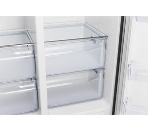 KENWOOD KSBSDIX16 American-Style Fridge Freezer - Silver - Lintronics Group LTD