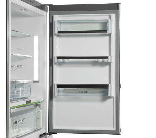 BOSCH Serie 6 KGN36AI35G Smart 60/40 Fridge Freezer - Silver - Lintronics Group LTD