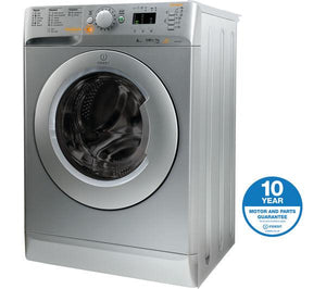 INDESIT Innex XWDE751480XS Washer Dryer - Silver - Lintronics Group LTD