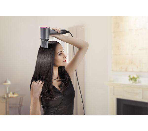 DYSON Supersonic Hair Dryer - Iron & Fuchsia - Lintronics Group LTD
