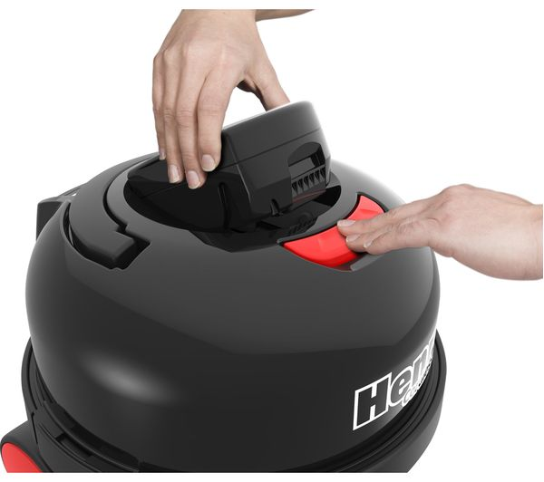 NUMATIC Henry Cordless Vacuum Cleaner - Red - Lintronics Group LTD