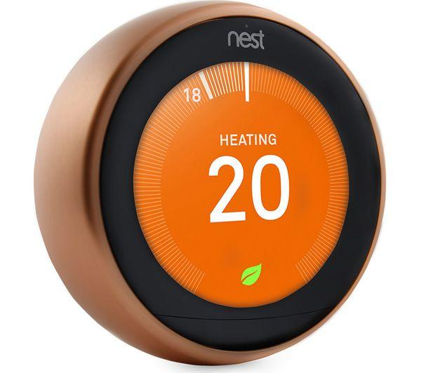 NEST Learning Thermostat - 3rd Generation, Copper - Lintronics Group LTD