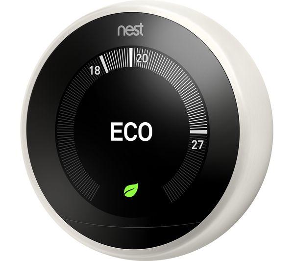 NEST Learning Thermostat - 3rd Generation, White - Lintronics Group LTD