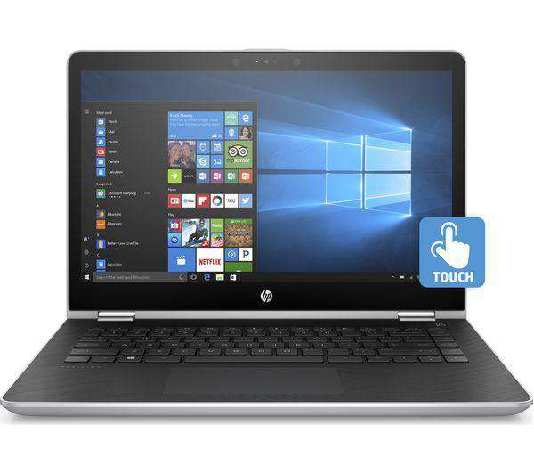 "HP Pavilion x360 14"" Intel® Core™ i3 2 in 1 - 128 GB SSD, Silver - Lintronics Group LTD"