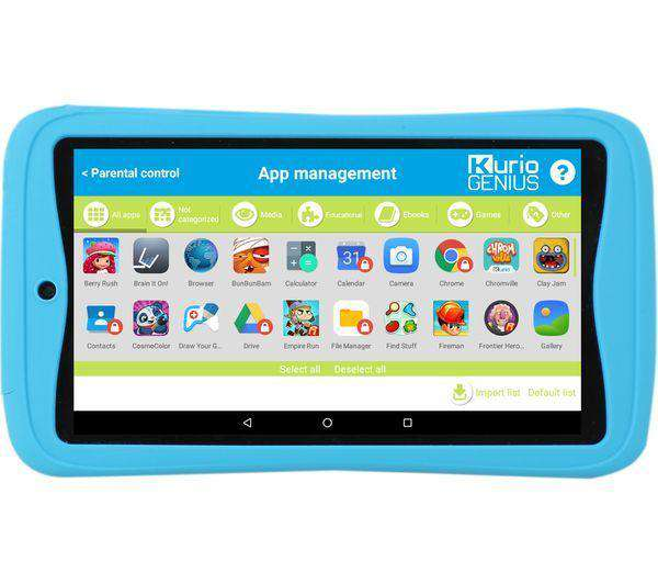 "KURIO Advance C17150 7"" Kids Tablet - 16 GB, Blue - Lintronics Group LTD"