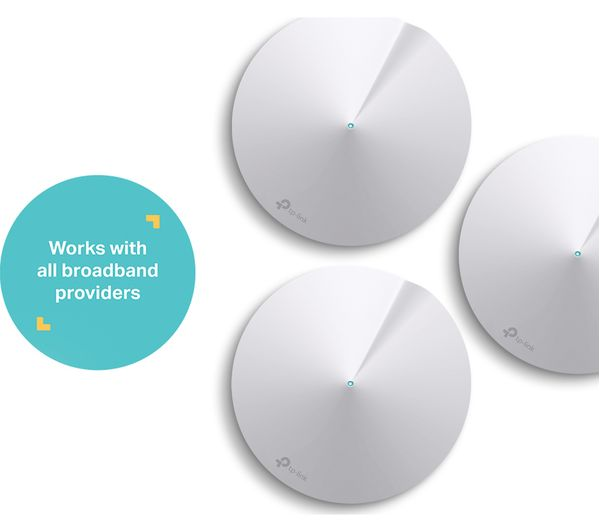 TP-LINK Deco M5 Whole Home WiFi System - Triple Pack - Lintronics Group LTD