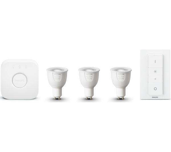 PHILIPS Hue White & Colour Ambiance GU10 Starter Kit - Lintronics Group LTD