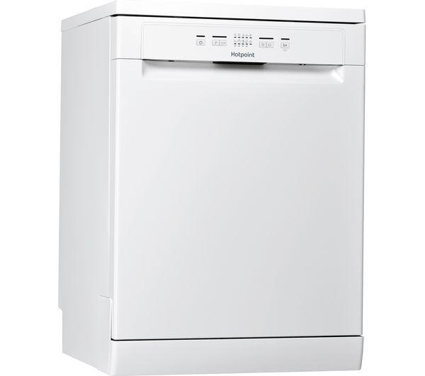 HOTPOINT HFC 2B19 UK Full-size Dishwasher - White - Lintronics Group LTD