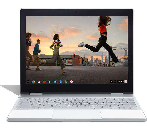 "GOOGLE Pixelbook 00122 12.3"" 2 in 1 Chromebook - Silver - Lintronics Group LTD"