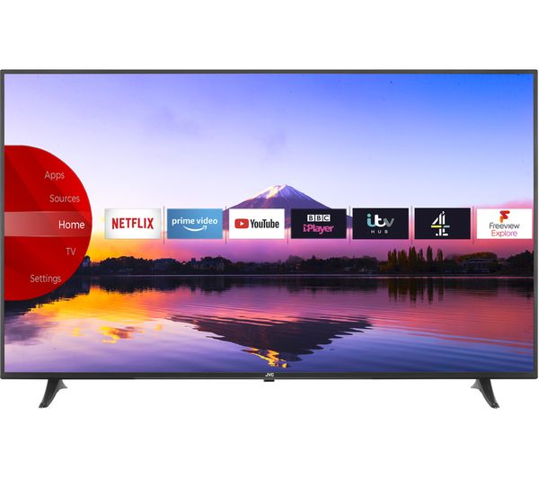 "JVC LT-65C880 65"" Smart 4K Ultra HD HDR LED TV - Lintronics Group LTD"