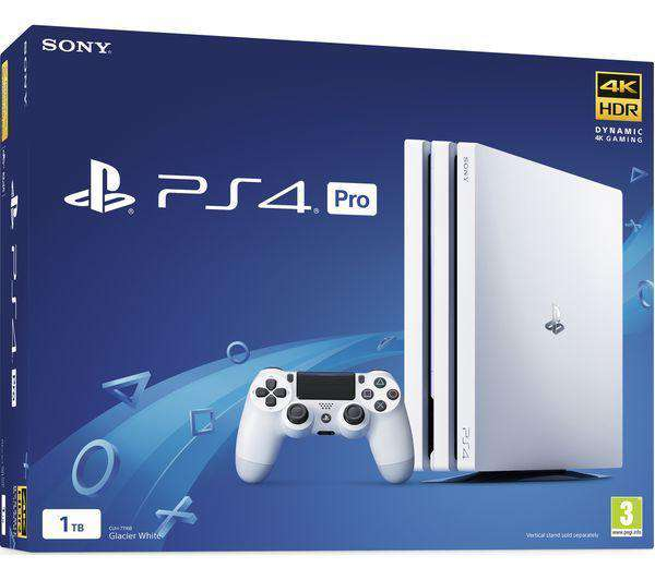 SONY Playstation 4 PRO - White - Lintronics Group LTD