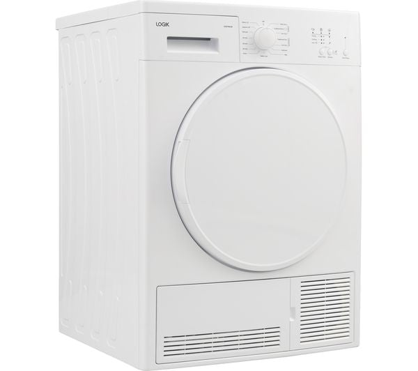 LOGIK LCD7W18 7 kg Condenser Tumble Dryer - White - Lintronics Group LTD