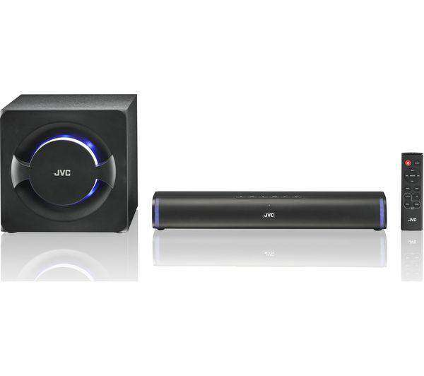 JVC TH-D258B 2.1 Wireless Compact Sound Bar - Lintronics Group LTD
