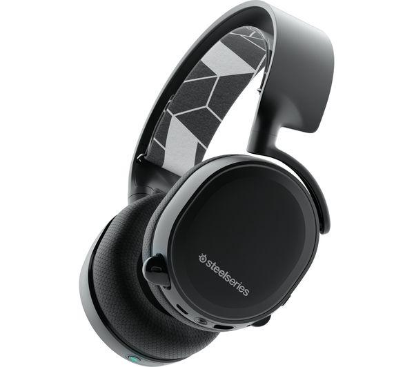 STEELSERIES Arctis 3 7.1 Bluetooth Wireless Gaming Headset - Black - Lintronics Group LTD