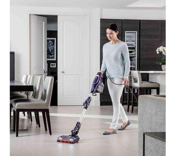 SHARK DuoClean with Flexology HV390UK Bagless Vacuum Cleaner - Purple - Lintronics Group LTD