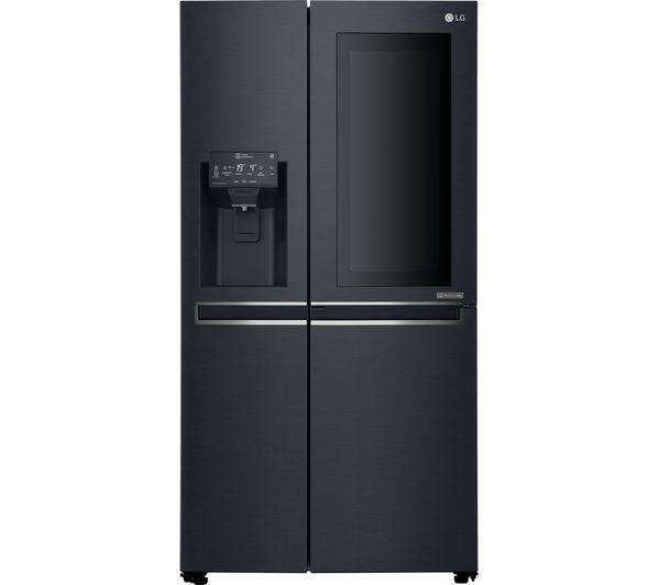LG Instaview GSX961MTAZ American-Style Smart Fridge Freezer - Black Steel - Lintronics Group LTD