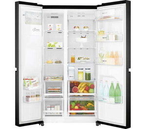 LG GSL761WBXV American-Style Smart Fridge Freezer - Black - Lintronics Group LTD