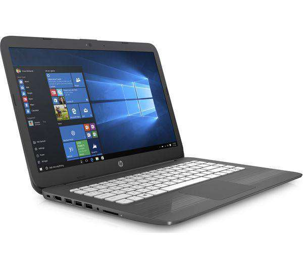 "HP Stream 14-ax056sa 14"" Intel® Celeron™ Laptop - 32 GB eMMC, Grey - Lintronics Group LTD"