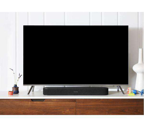 SONOS Beam Compact Sound Bar - Black - Lintronics Group LTD