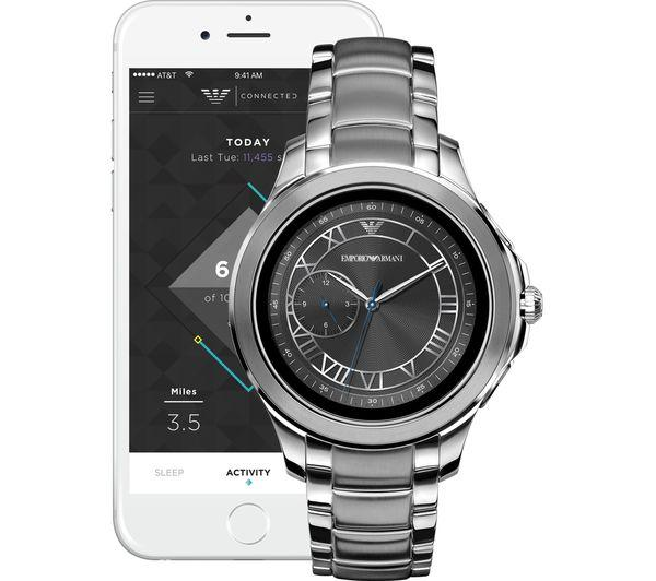 EMPORIO ARMANI ART5010 Smartwatch - Silver - Lintronics Group LTD