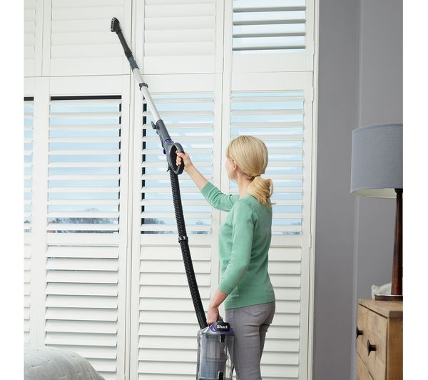 SHARK DuoClean Lift-Away NV700UK Upright Bagless Vacuum Cleaner - Grey & Purple - Lintronics Group LTD