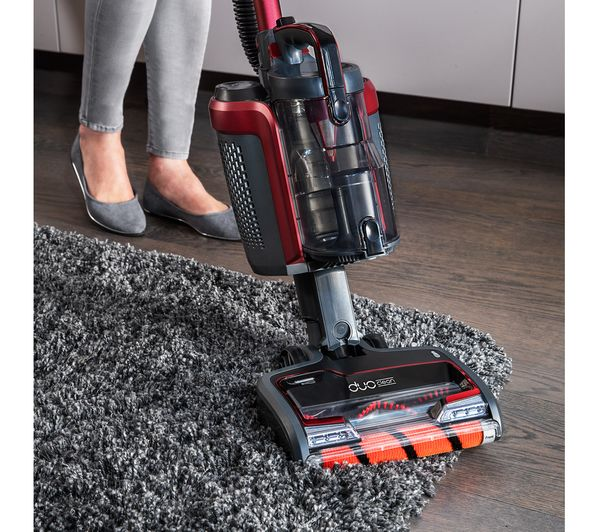 SHARK DuoClean Powered Lift-Away TruePet IC160UKT Cordless Vacuum Cleaner - Rotary Red - Lintronics Group LTD