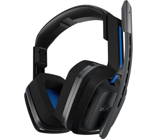 ASTRO A20 Wireless Gaming Headset - Grey & Blue - Lintronics Group LTD