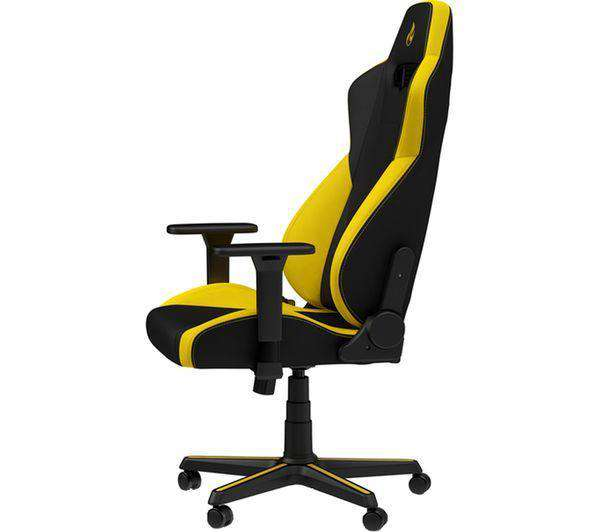 NITRO CONCEPTS S300 Gaming Chair - Yellow - Lintronics Group LTD