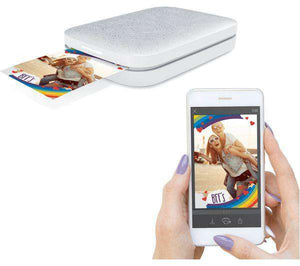 HP Sprocket 200 Mobile Photo Printer - Pearl - Lintronics Group LTD