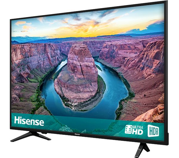 "HISENSE H50AE6100UK 50"" Smart 4K Ultra HD HDR LED TV - Lintronics Group LTD"