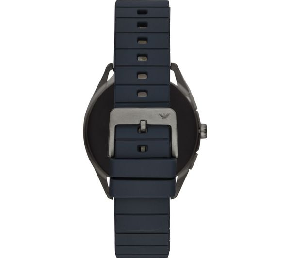 EMPORIO ARMANI ART5008 Smartwatch - Gunmetal & Blue - Lintronics Group LTD