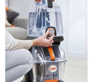 VAX Rapid Power Revive Upright Carpet Cleaner - Grey - Lintronics Group LTD