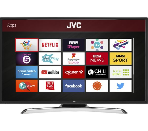 "JVC LT-43C890 43"" Smart 4K Ultra HD HDR LED TV - Lintronics Group LTD"