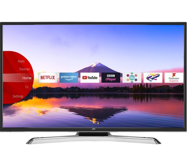 "JVC LT-40C890 40"" Smart 4K Ultra HD HDR LED TV - Lintronics Group LTD"