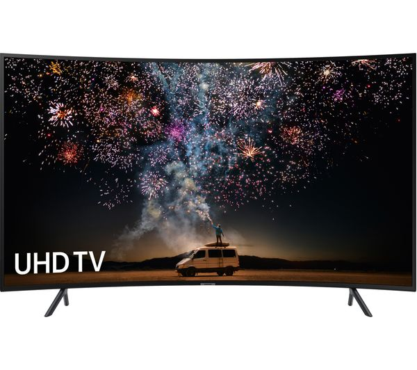 "SAMSUNG UE49RU7300KXXU 49"" Smart 4K Ultra HD HDR Curved LED TV - Lintronics Group LTD"