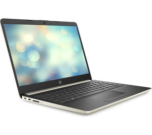 "HP 14-cf0500sa 14"" Intel® Pentium® Gold Laptop - 128 GB SSD, Gold - Lintronics Group LTD"