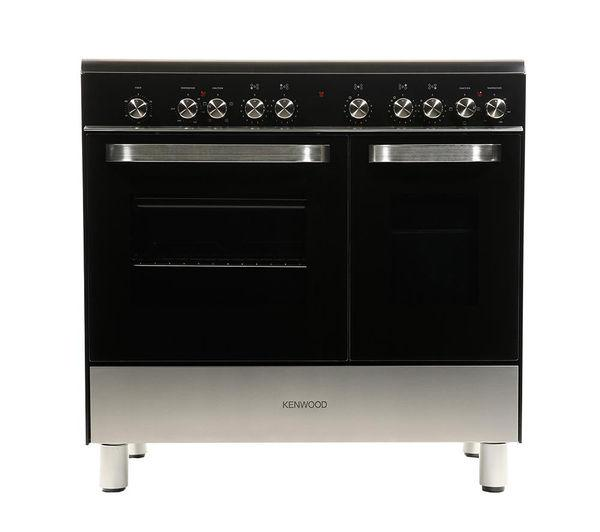 KENWOOD CK408/1 Electric Ceramic Range Cooker - Black - Lintronics Group LTD
