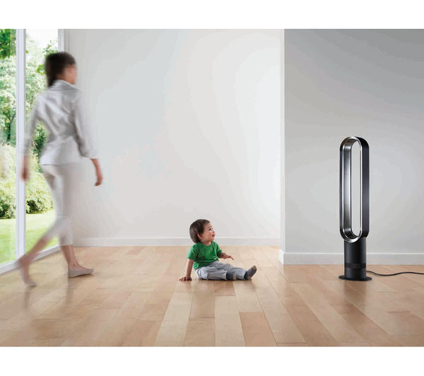 DYSON AM07 Tower Fan - White & Silver - Lintronics Group LTD