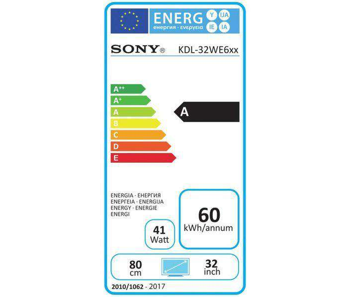Sony BRAVIA KDL32WE613 - 32 inch HDR Smart LED TV HD Ready Freeview HD - Lintronics Group LTD