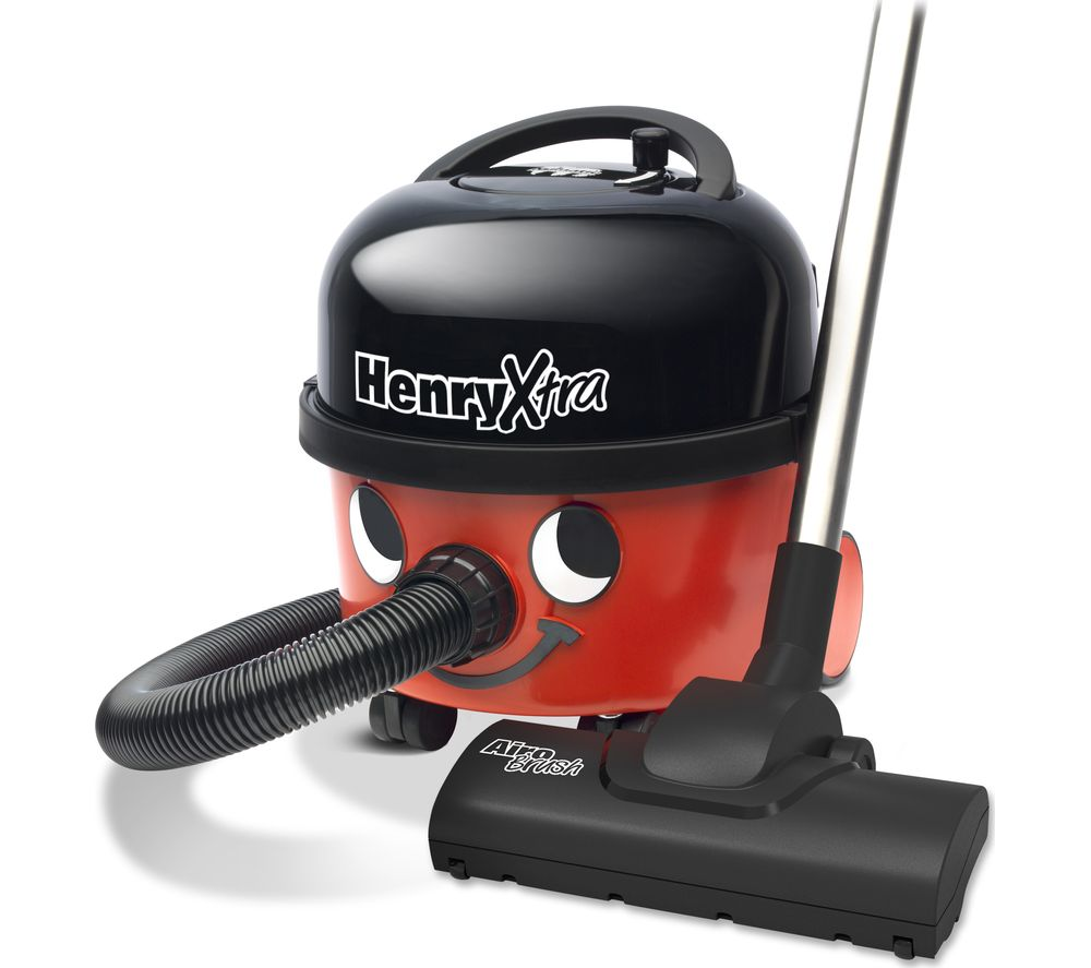 NUMATIC Henry Xtra HVX200-11 Cylinder Vacuum Cleaner - Red - Lintronics Group LTD