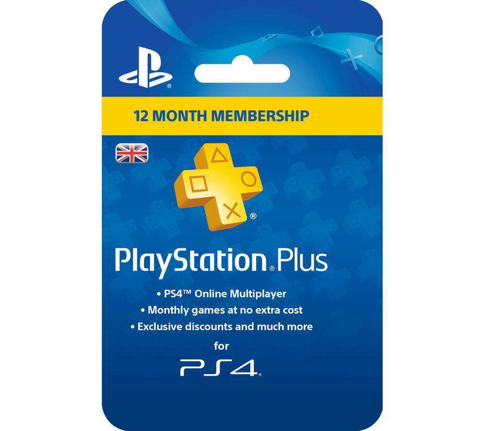 SONY PlayStation Plus 12 Month Subscription - Lintronics Group LTD