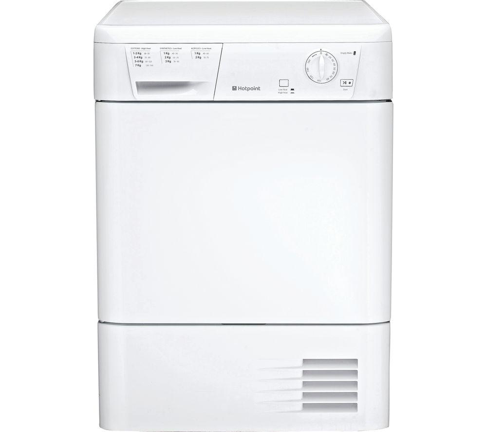 HOTPOINT First Edition FETC70BP Condenser Tumble Dryer - White - Lintronics Group LTD