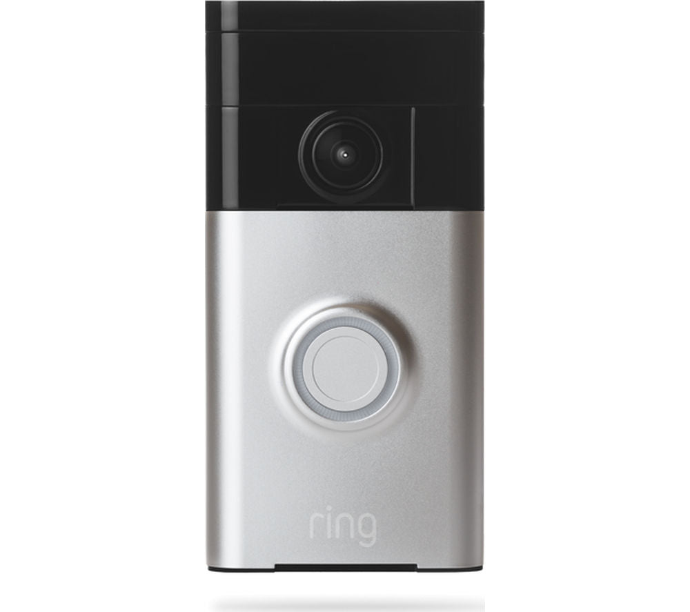 RING Video Doorbell - Satin Nickel - Lintronics Group LTD