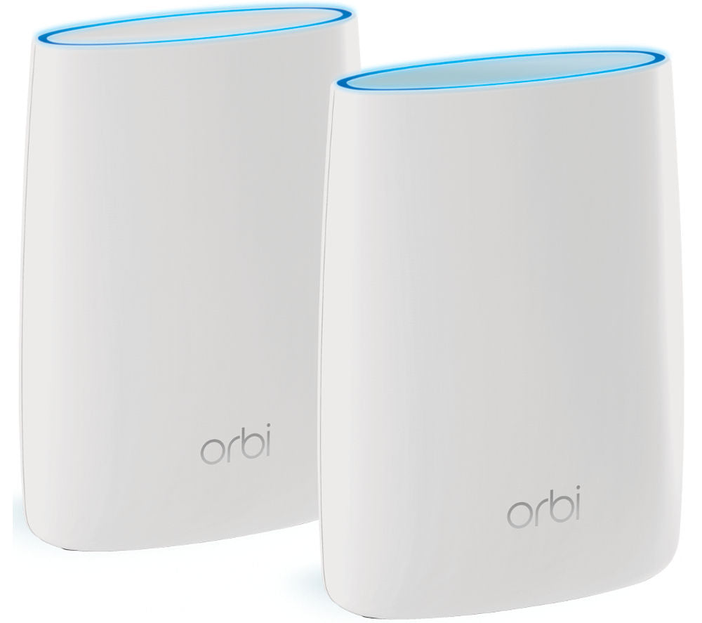 NETGEAR Orbi RBK50 Whole Home WiFi System - Twin Pack - Lintronics Group LTD