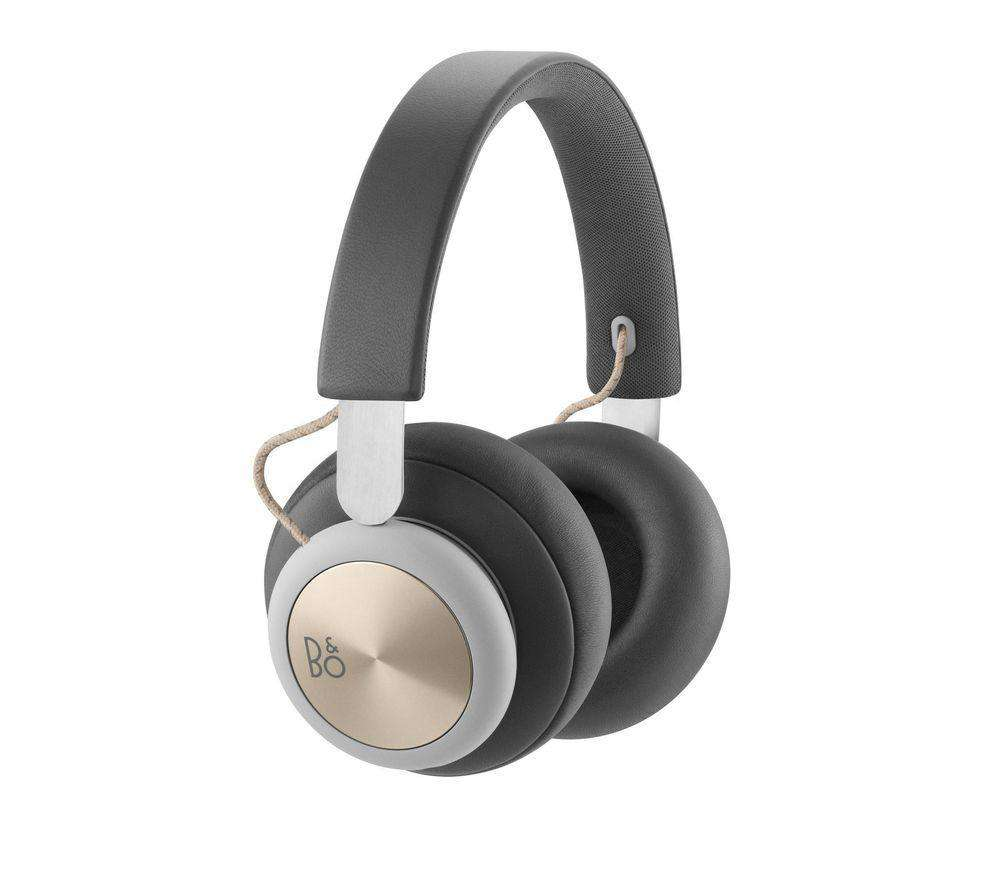 B&O H4 Wireless Bluetooth Headphones - Grey - Lintronics Group LTD