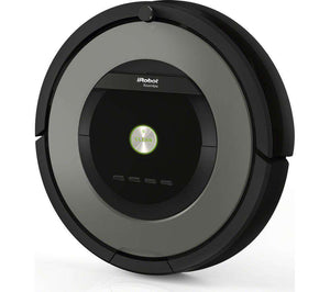 IROBOT Roomba 865 Robot Vacuum Cleaner - Black & Grey - Lintronics Group LTD