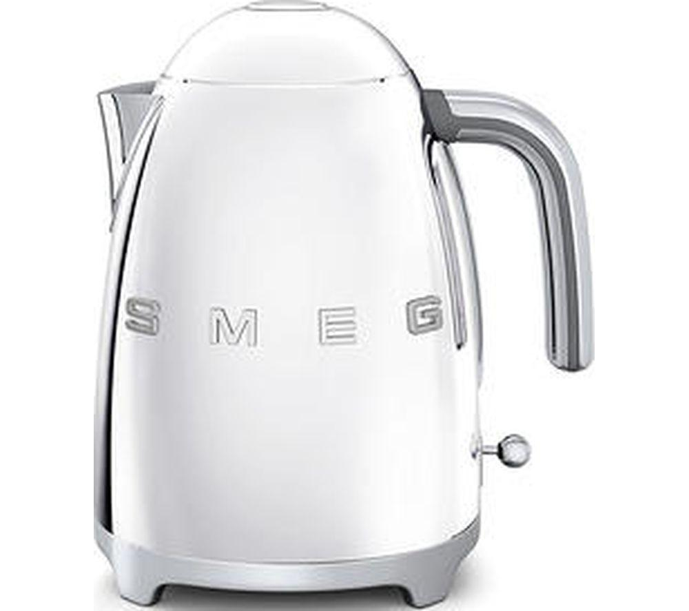 SMEG KLF03CRUK Jug Kettle - Stainless Steel - Lintronics Group LTD